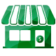 small business building business banking accounts icon